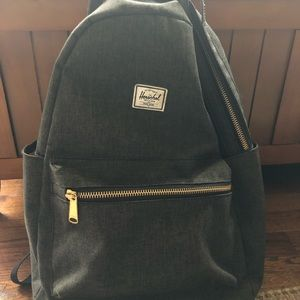 Hershel grey backpack